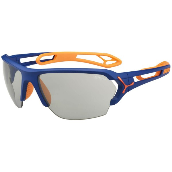 Cebe S Track L Matt Blue Orange Sportbrille blau