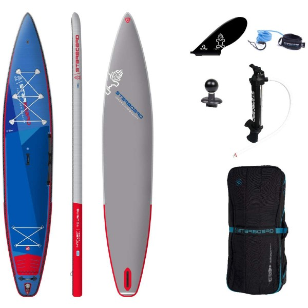 """Starboard 14'0"""" x 30"""" Touring Deluxe SC iSUP Board 2021"""