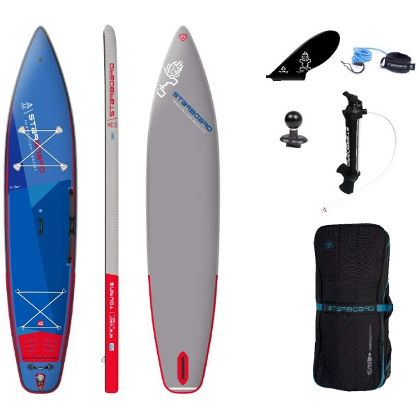 """Starboard 12'6"""" x 30"""" Touring Deluxe SC iSUP Board 2021"""