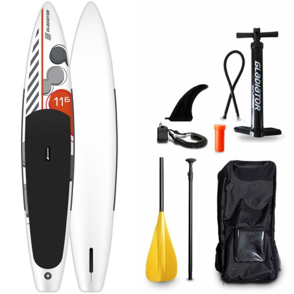 """Gladiator 11'6"""" x 25"""" Kids & Young Allround SUP Board Set 2021"""