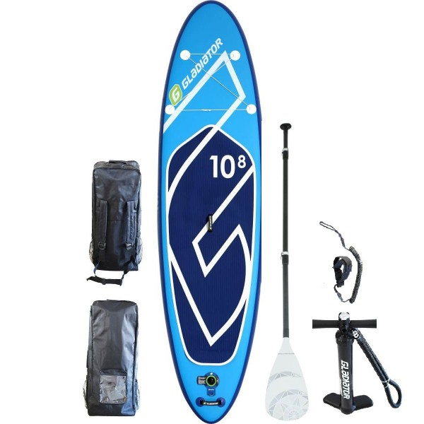 Gladiator 10'8 iSUP Board Set mit Paddel 2019