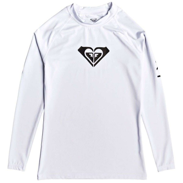 Roxy Whole Hearted LS Damen Funktionsshirt weiß