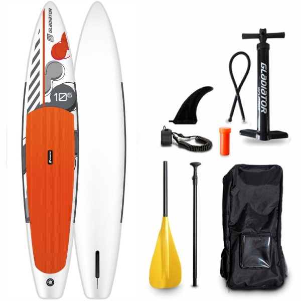 """Gladiator 10'6"""" x 24"""" Kids & Young Race SUP Board Set 2021"""
