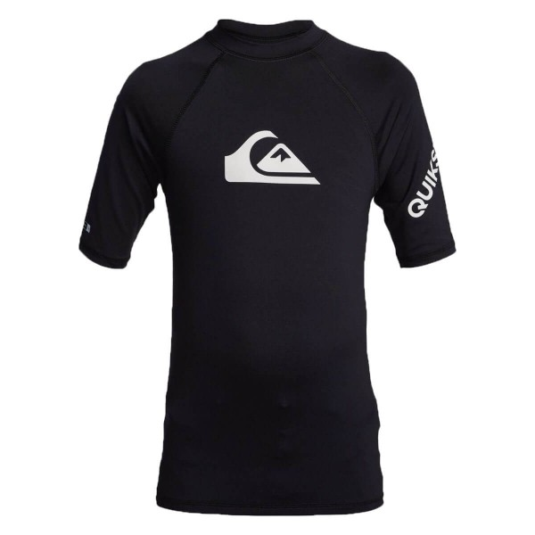 Quiksilver All Time SS Youth Kinder Funktionsshirt schwarz