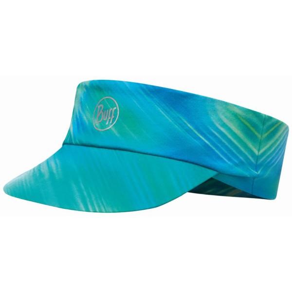 Buff Pack Run Visor R-Shining Sonnenschild blau