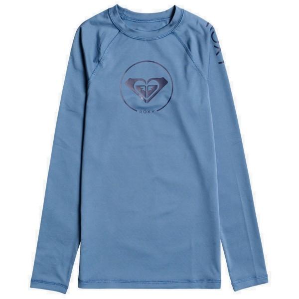 Roxy Beach Classic LS LY Kinder Funktionsshirt blau