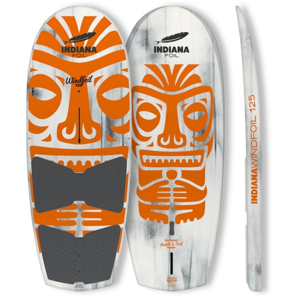 Indiana 125 Wind Foil Wing Board inkl. Fins und 4 Footstraps 2021