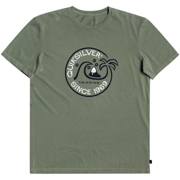 Quiksilver Into the Wide T-Shirt grün