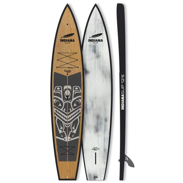 "Indiana 12'6"" x 29"" Touring Carbon Wood Hard Board 2021"