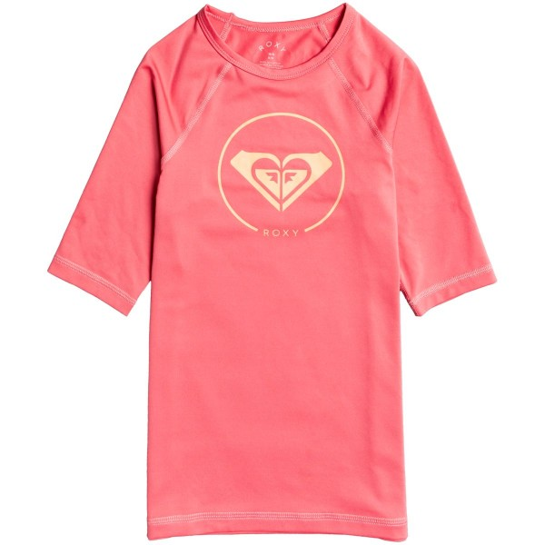 Roxy Beach Classic SS LY Kinder Funktionsshirt rot