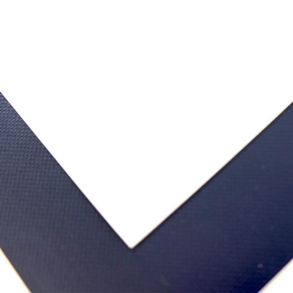 Gladiator SUP PVC Reparaturpatches Doppelpack blau und weiss