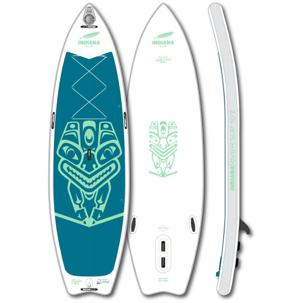 """Indiana 10'2"""" x 31"""" River Inflatable SUP Board 2021"""