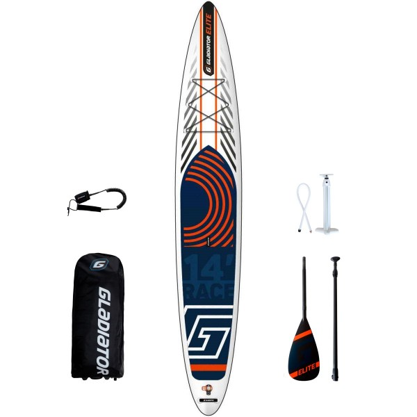 "Gladiator Elite 14'0"" T x 30"" SUP Board Set 2020"