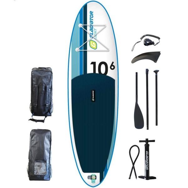 "Gladiator LT 10'6"" iSup Board Set mit Paddel 2020"