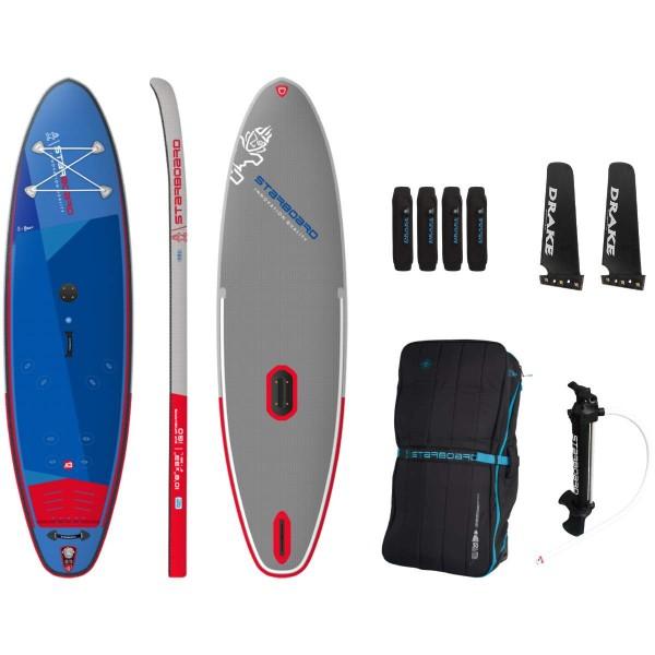 "Starboard 10'8"" iGo WindSUP Deluxe SC Inflatable WindSUP Board 2021"