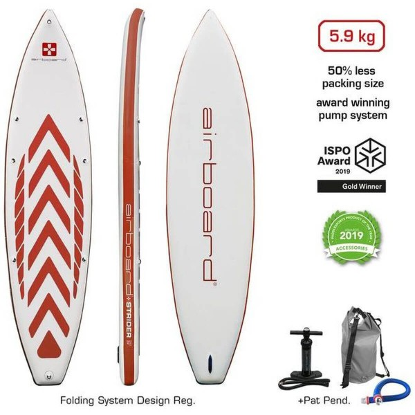 "Airboard Strider Red 11'2"" x 32"" SUP Board 2020"