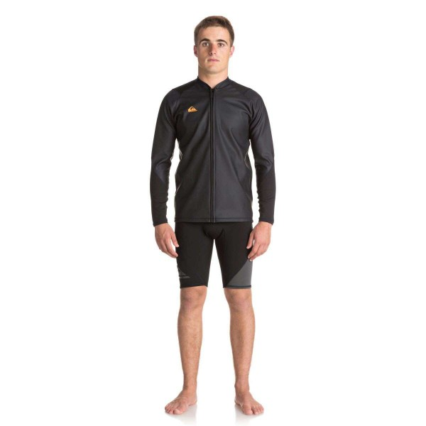 Quiksilver Waterman Paddle FZ Jacket schwarz